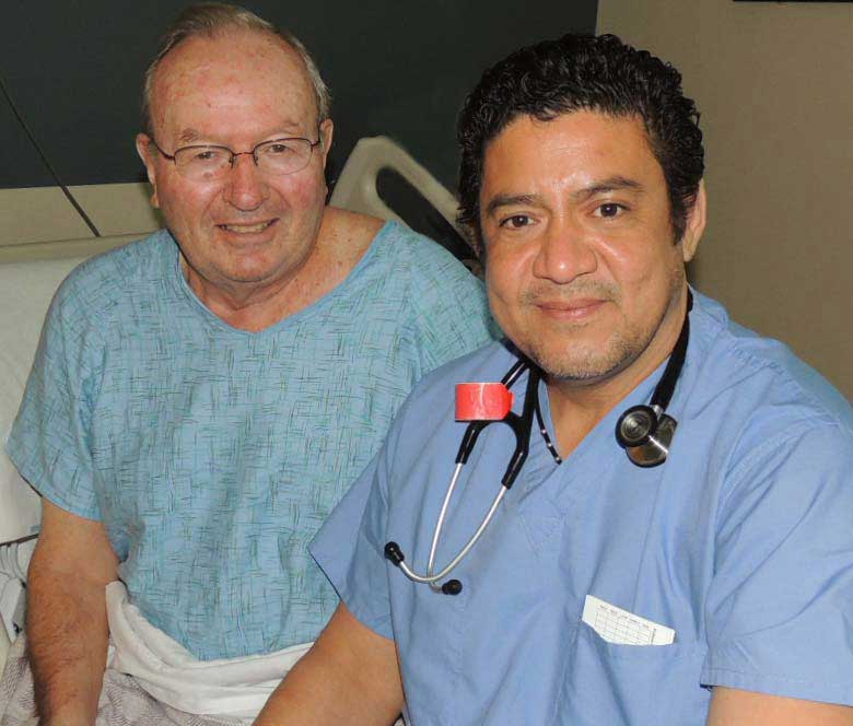 LCMC performs area's first interventional cardiac procedure, Robert Gifford